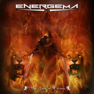 Energema - The Lion´s Forces album 2016 COVER